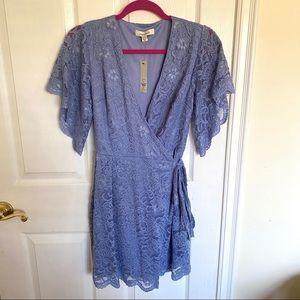Laced Wrap Dress